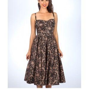Stop staring Jennifer swing dress